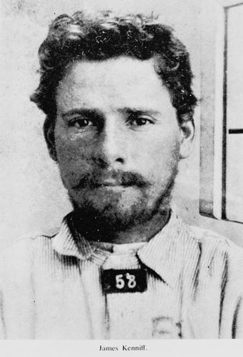 Mug shot of James Kenniff
